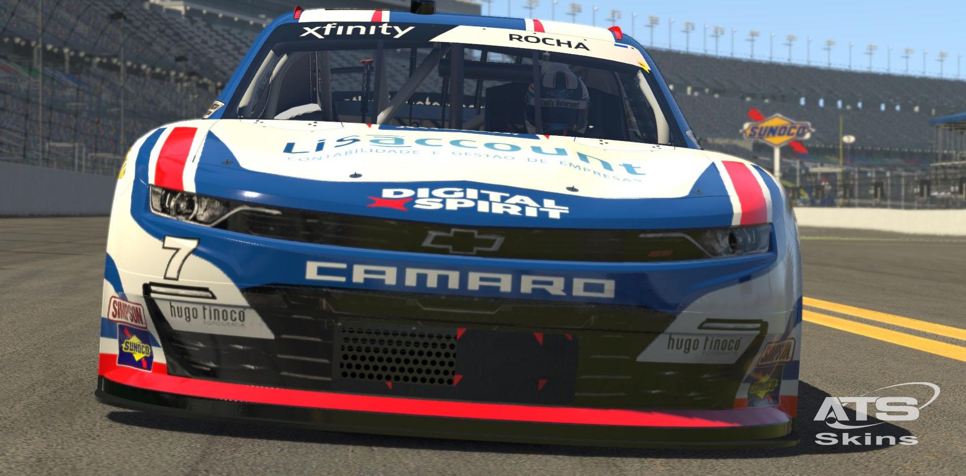 Atlantic Motorsport presents the new NASCAR Chevrolet Camaro Class B  for iRacing