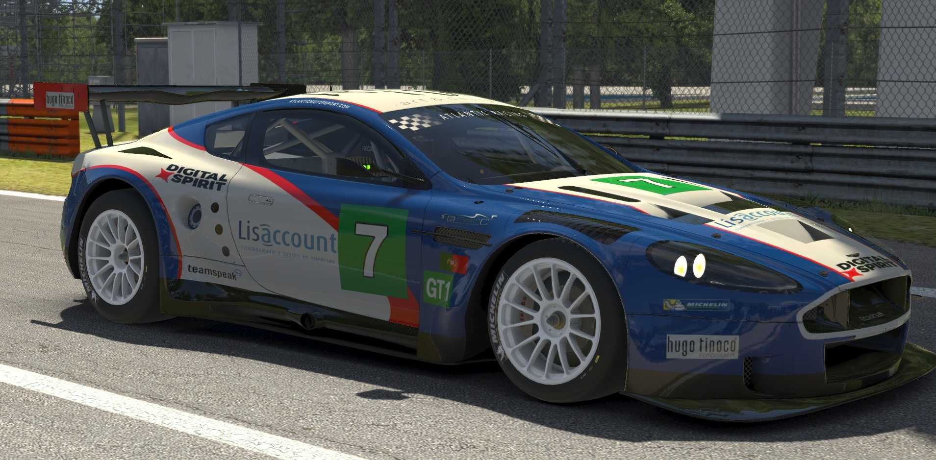 Atlantic Motorsport presents the new Aston DBR9 GT1 for iRacing