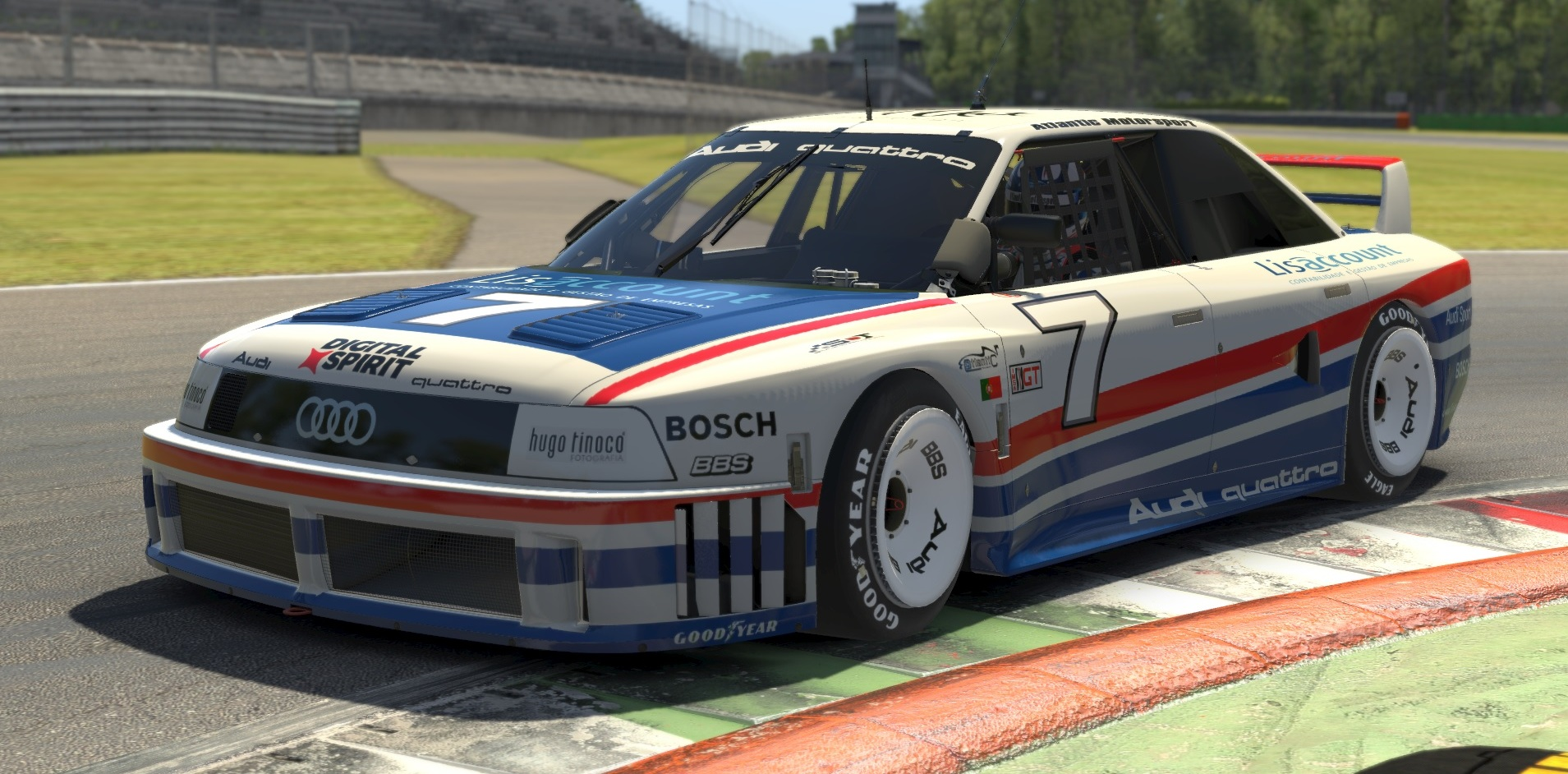 Atlantic Motorsport presents the new Audi 90 GTO for iRacing