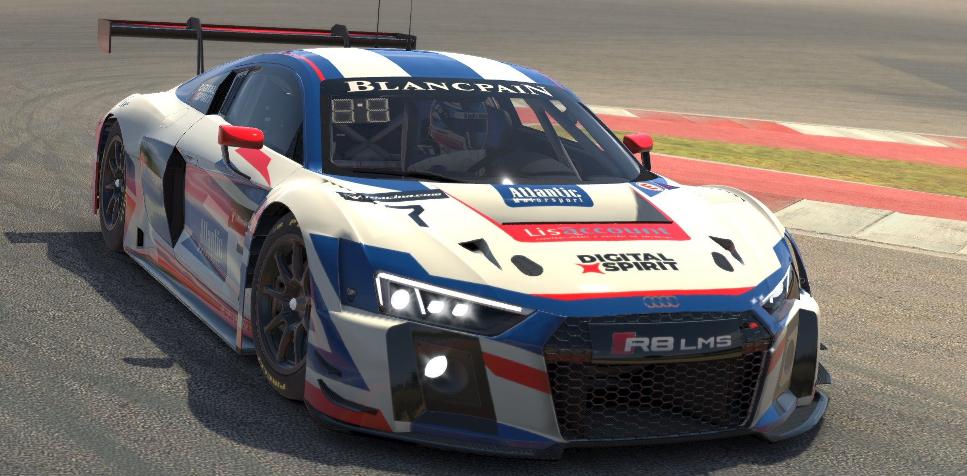 Atlantic Motorsport presents the new Audi R8 LMS GT3 for iRacing