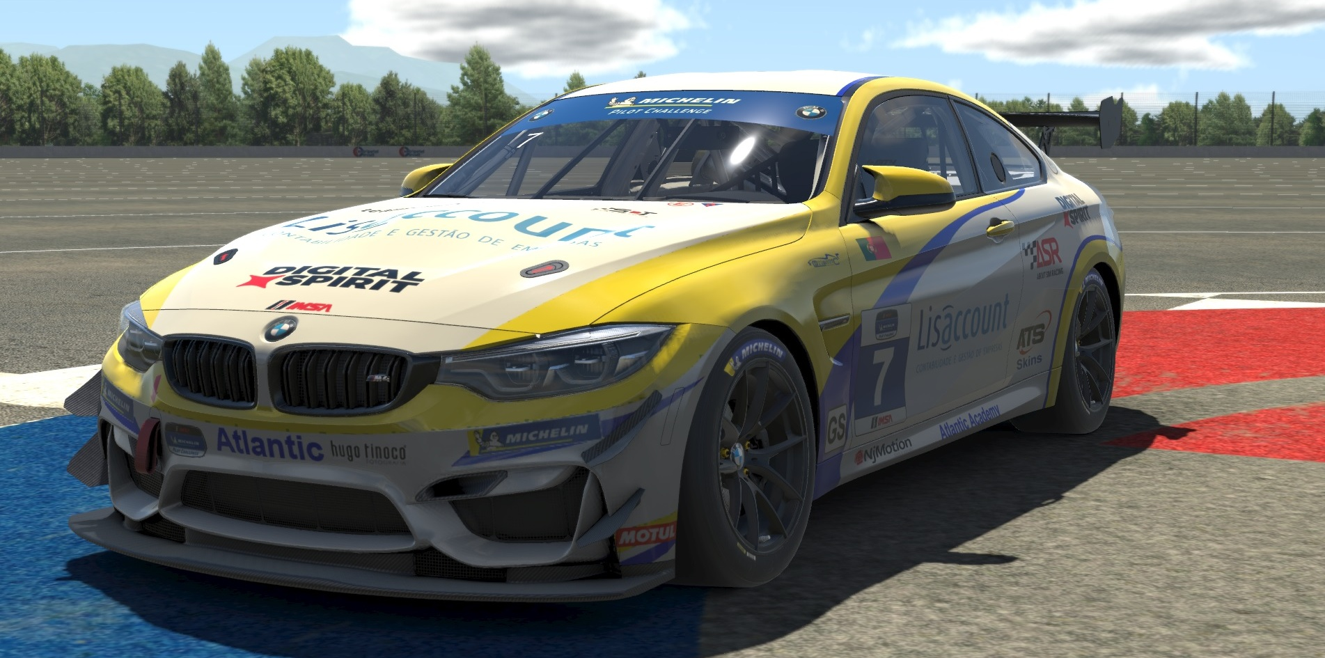 Atlantic Academy presents the new BMW M4 GT4 for iRacing