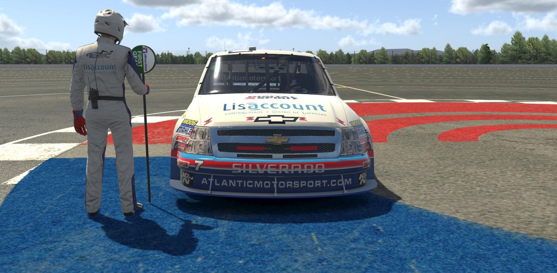 Atlantic Motorsport Academy presents the new Chevrolet Silverado Truck for iRacing