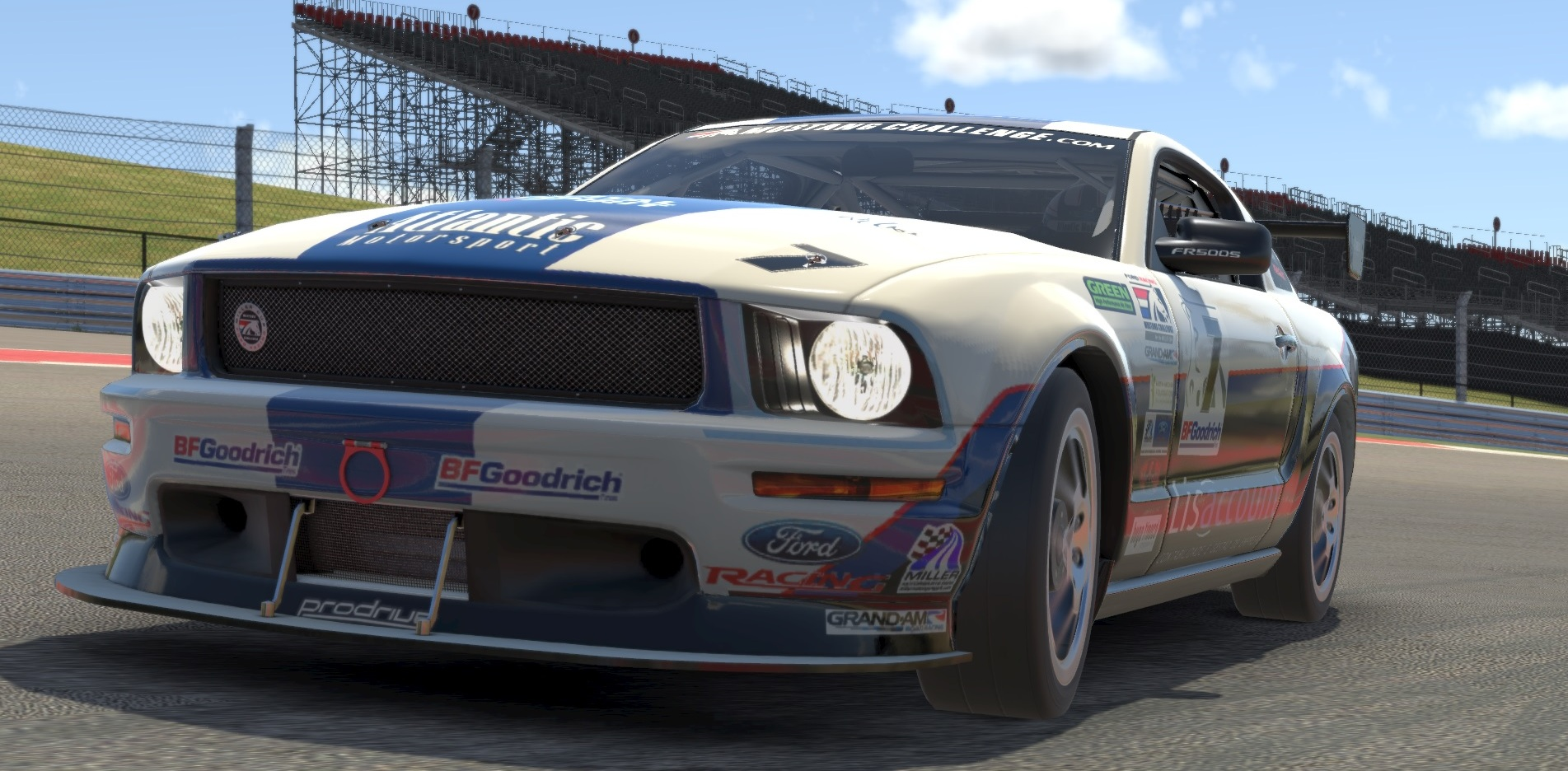 Atlantic Motorsport presents the new Ford Mustang FR500 S for iRacing