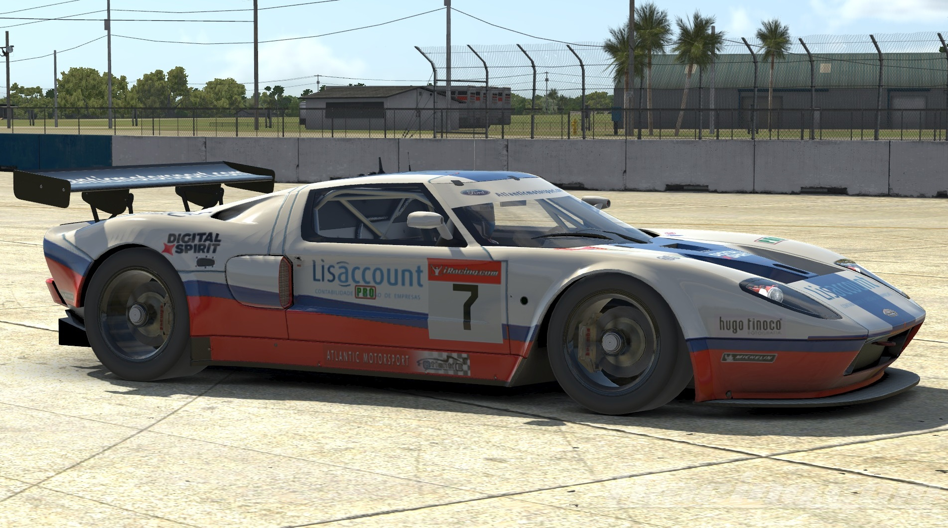 Atlantic Motorsport presents the new Ford GT GT3 iRacing