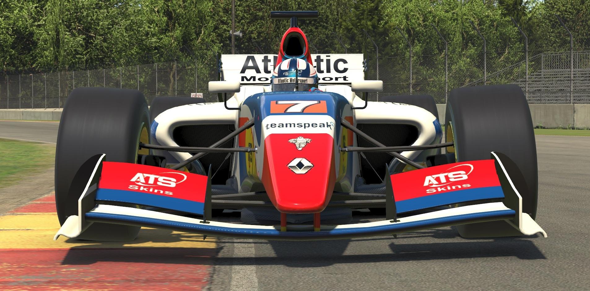 Atlantic Motorsport presents the new Formula Renault 3_5 for iRacing