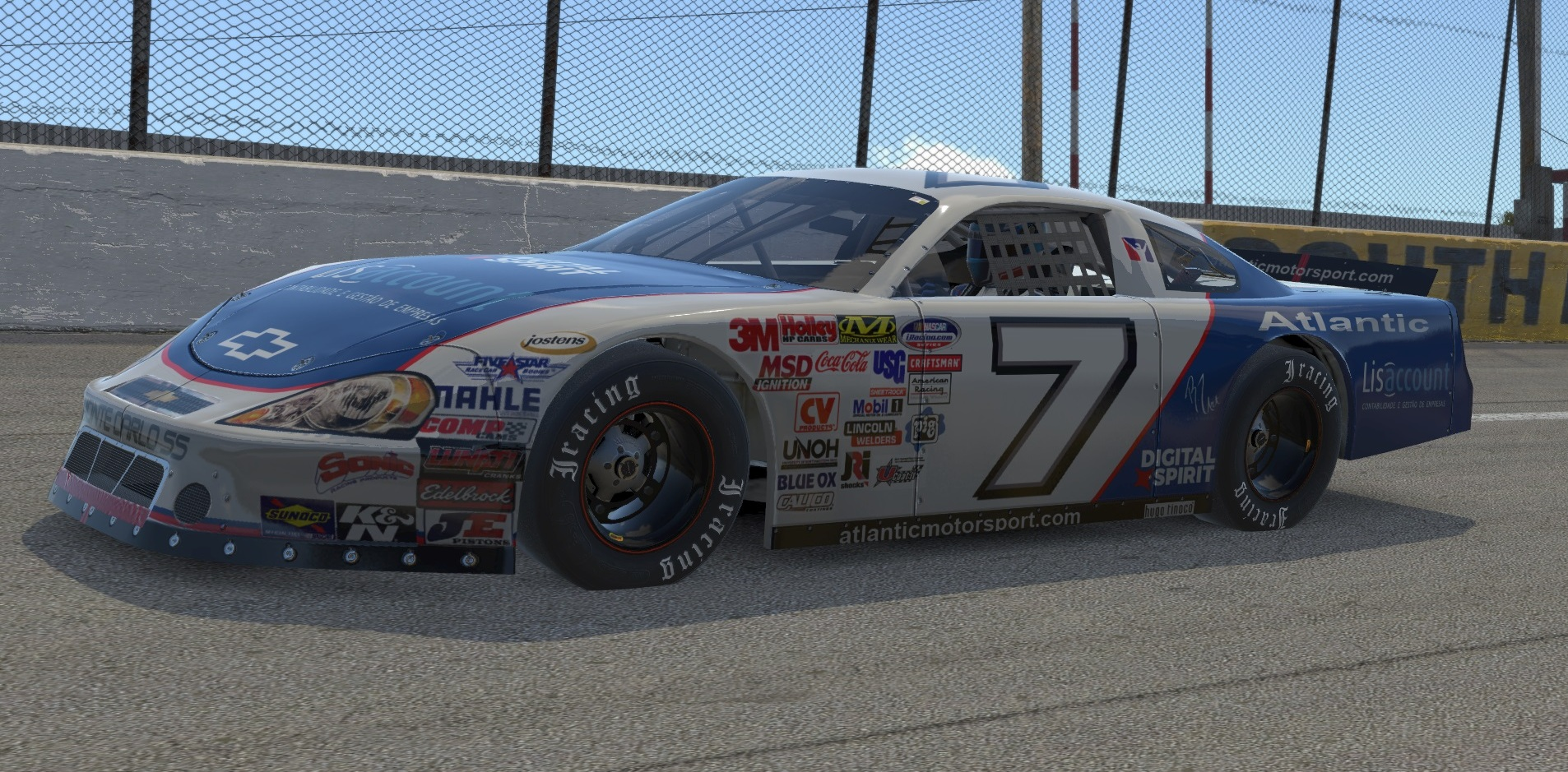 Atlantic Motorsport Academy presents the new Chevrolet Monte Carlo SS for iRacing
