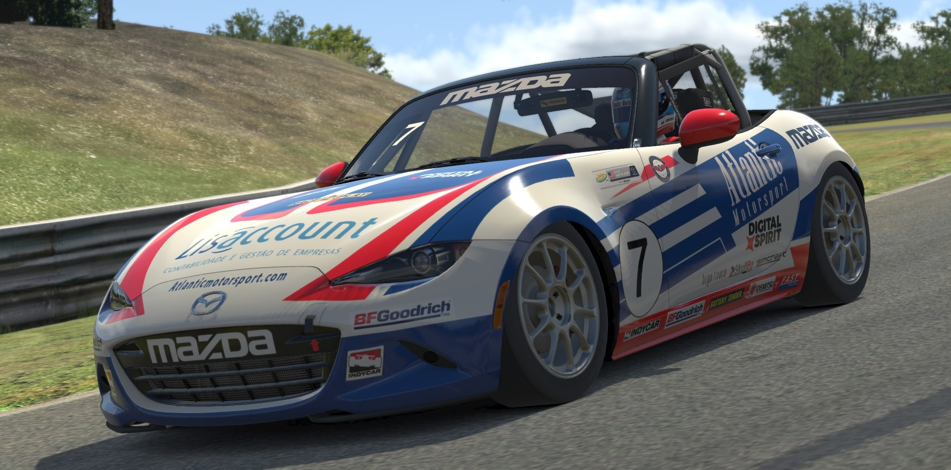 Atlantic Motorsport presents the new Mazda MX5 CUP for iRacing