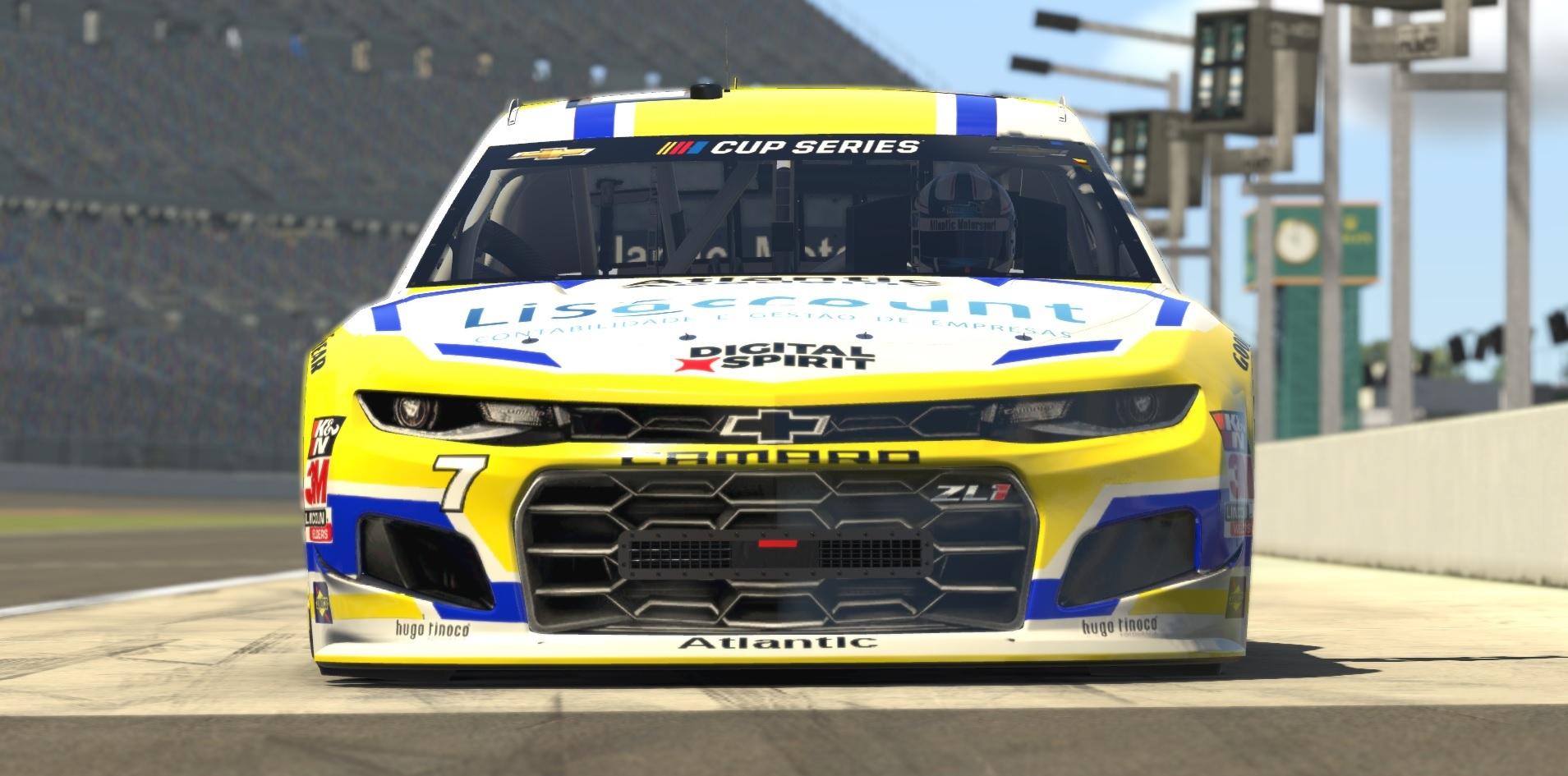 Atlantic Academy presents the new NASCAR Chevrolet Camaro ZL1 for iRacing
