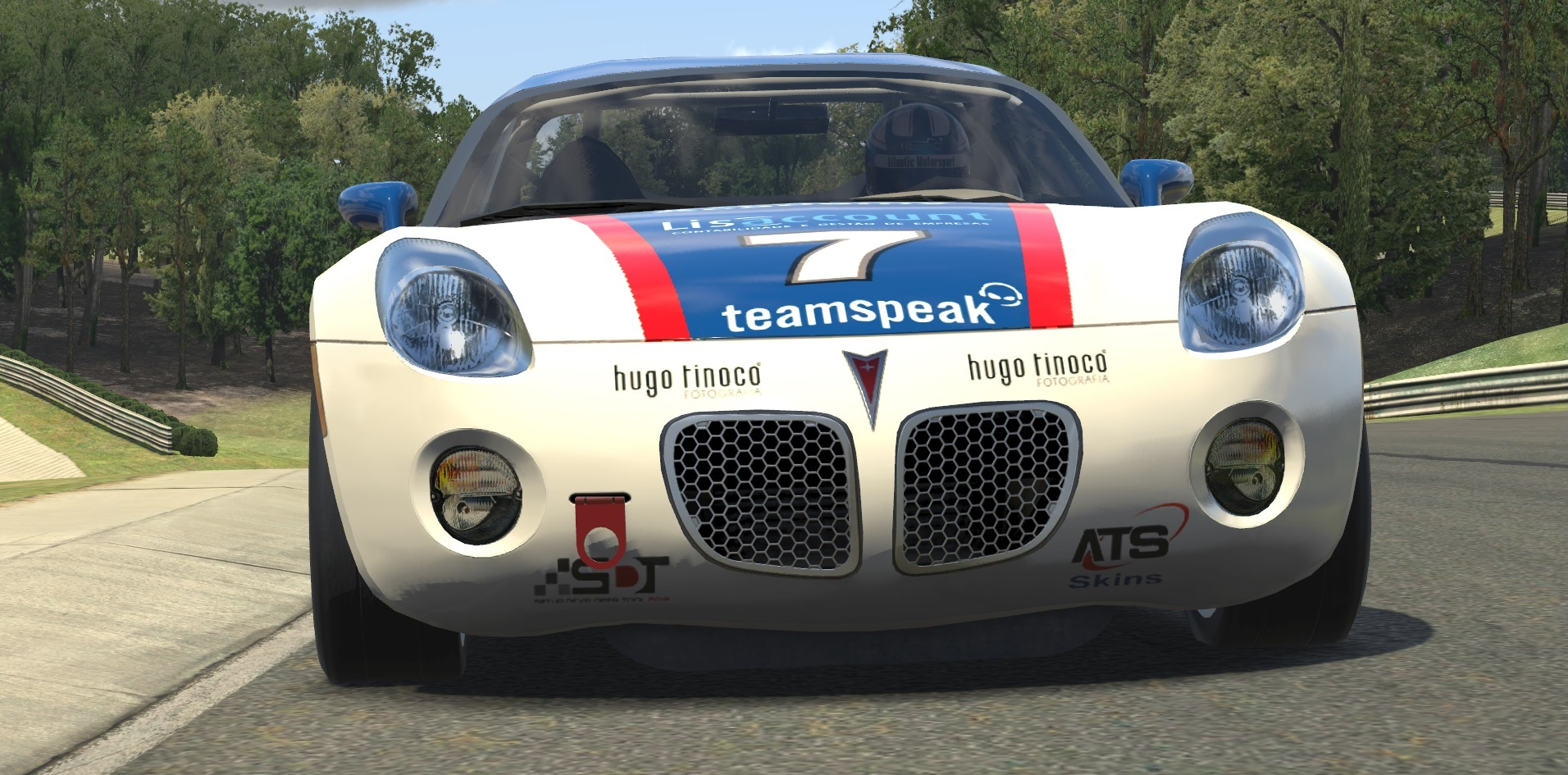 Atlantic Academy presents the new Pontiac Solstice for iRacing