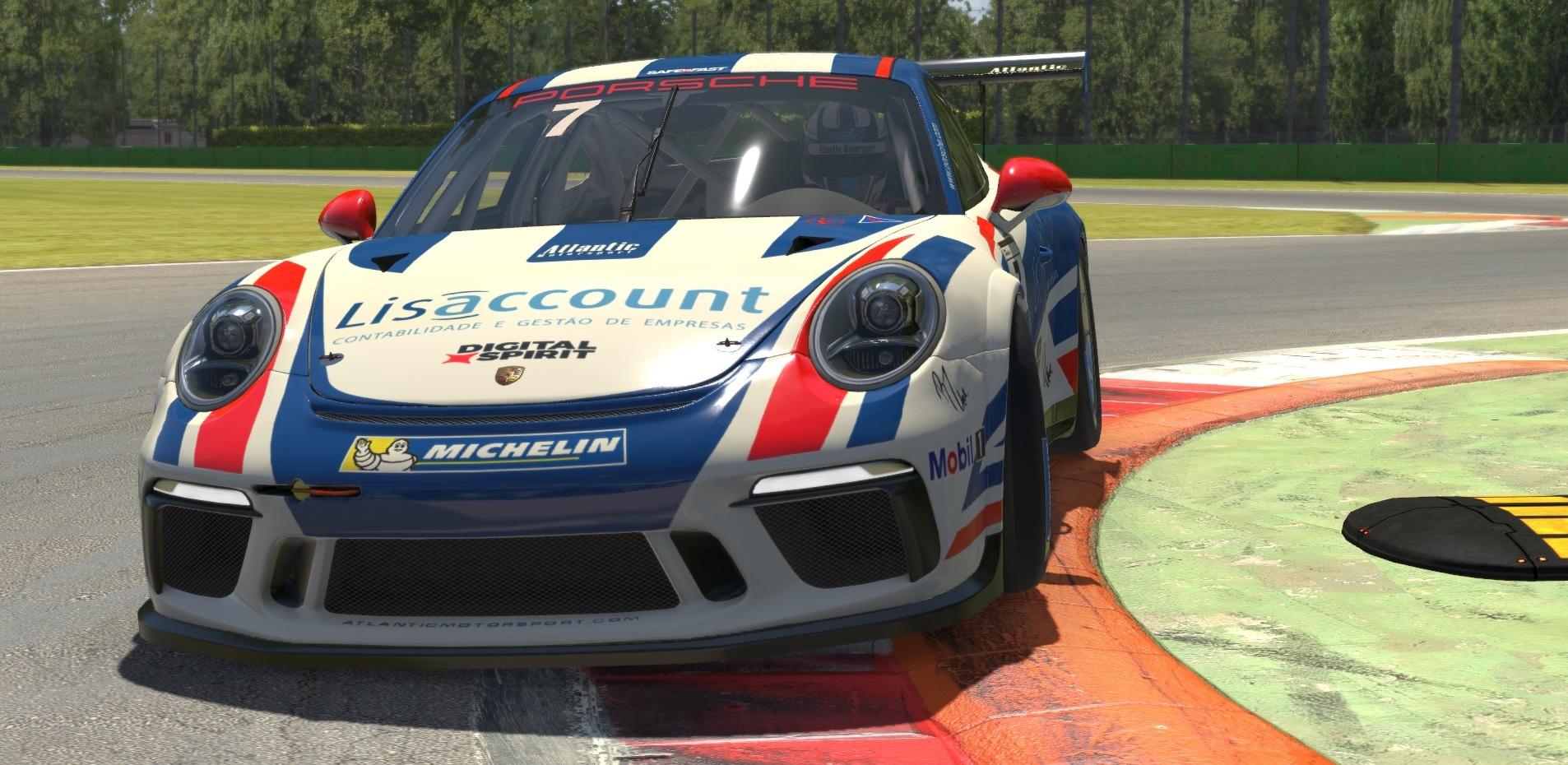 Atlantic Motorsport presents the new Porsche 911 GT3 CUP (991) for iRacing
