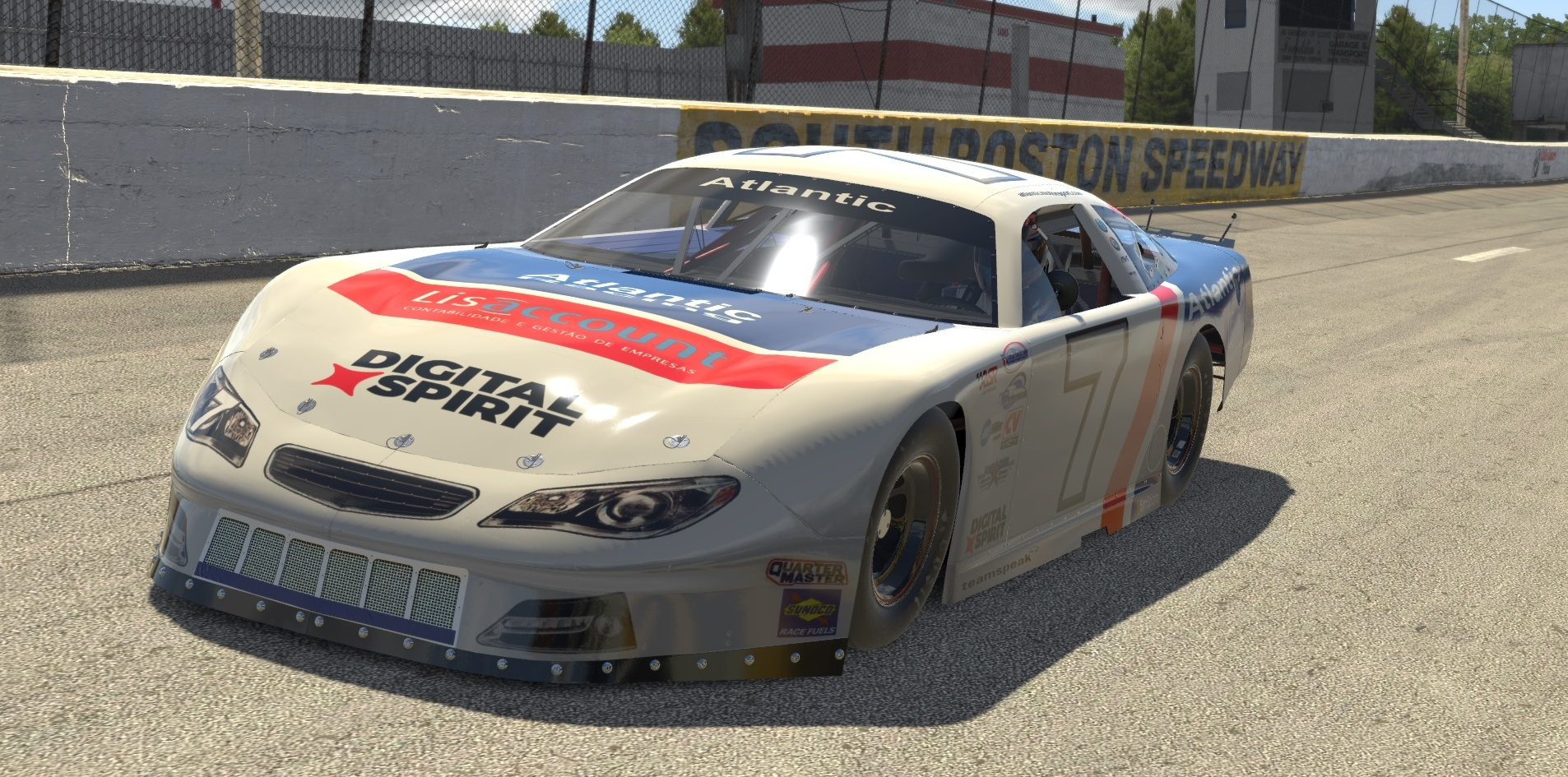 Atlantic Motorsport presents the new Super Late Model for iRacing