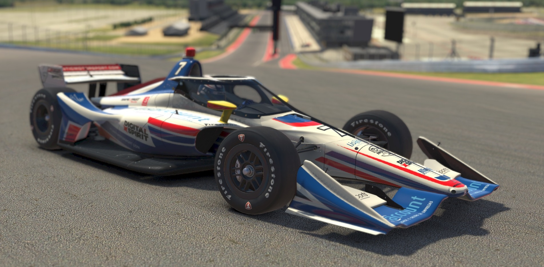Atlantic Motorsport presents the new INDYCAR Dallara IR 18/2020 for iRacing